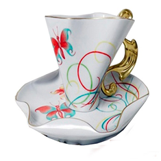 Чашка с блюдцем ДАЛИ от Rudolf Kampf