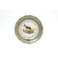 Тарелки ОХОТА ЗЕЛЕНАЯ от Sterne Porcelan