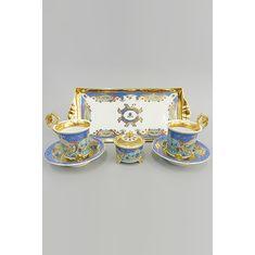 Подарочный набор для чая или кофе ТЕТ-А-ТЕТ, коллекция НАЦИОНАЛЬНЫЕ ТРАДИЦИИ, декор ИЕРУСАЛИМ, от Rudolf Kampf