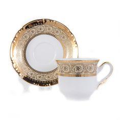 Набор чашек с блюдцами КОНСТАНЦИЯ, декор 7636300, от Thun 1794 a.s.