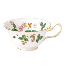 Чайная чашка-пион ЗЕМЛЯНИКА (Wild Strawberry) от Wedgwood