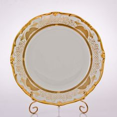 Набор тарелок СИМФОНИЯ ЗОЛОТАЯ