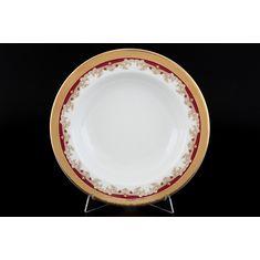 Набор тарелок КРИСТИНА КРАСНАЯ ЛИЛИЯ от Thun 1794 a.s.