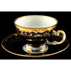 Набор для чая ЮВЕЛ КОБАЛЬТ от Weimar Porzellan на одну персону