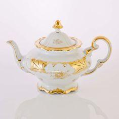 Чайник заварочный КЛЕНОВЫЙ ЛИСТ БЕЛЫЙ от Weimar Porzellan