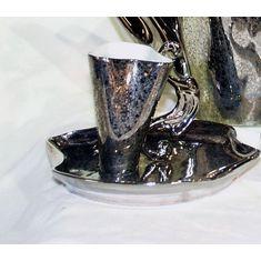Чашка высокая  с блюдцем ДАЛИ от Rudolf Kampf