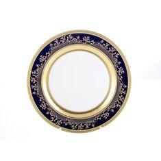 Круглое блюдо CONSTANZA COBALT GOLD 9320 от Falkenporzellan