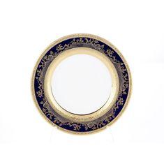 Набор тарелок 17 см CONSTANZA COBALT GOLD 9320 от Falkenporzellan