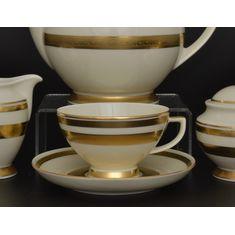 Чайные пары CREME GOLD 9321 от Falkenporzellan