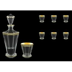 Графин и стаканы Astra Gold