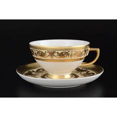 Набор чайных пар IMPERIAL CREME GOLD от Falkenporzellan