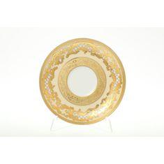 Блюдца ALENA 3D CREME GOLD CONSTANZA от Falkenporzellan, 6 шт.