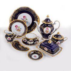 Сервиз чайный САНКТ-ПЕТЕРБУРГ КОБАЛЬТ от Weimar Porzellan