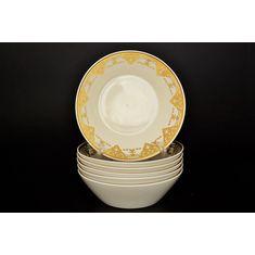 Набор салатников 19 см IMPERIAL CREME GOLD