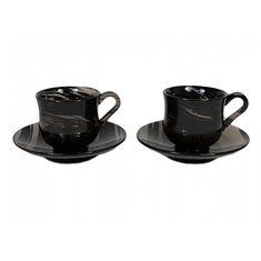 Набор кофейных пар из обсидиана от Zlatoust