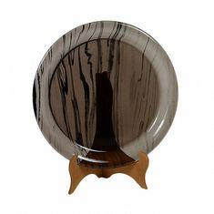 Тарелка из обсидиана 18 см от Zlatoust