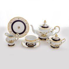 Чайный сервиз АННА АМАЛИЯ от Weimar Porzellan на 6 персон, 21 предмет