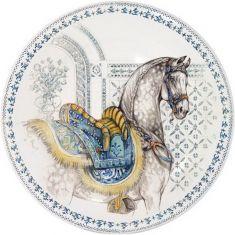 Тарелка десертная ЛОШАДИ СОЛНЦА от Gien