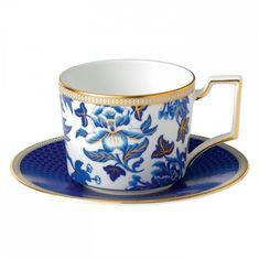 Чайная чашка с блюдцем ГИБИСКУС от Wedgwood