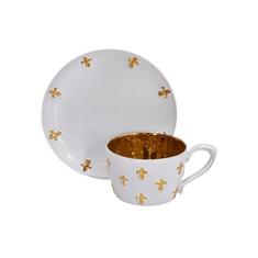 Маленькая чайная пара с лилиями от Evgeniya Kryukova