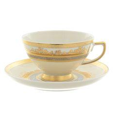Набор чайных пар CREAM GOLD 9320 от Falkenporzellan