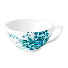 Чашка чайная ДЖАСПЕР КОНРАН ШИНУАЗРИ (Jasper Conran Chinoiserie), белый цвет, от Wedgwood