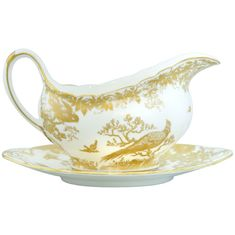 Соусник AVES GOLD от Royal Crown Derby
