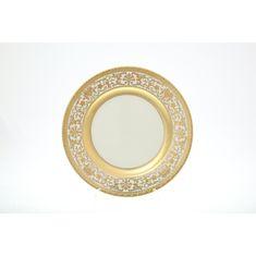 Блюдо круглое 30 см ROYAL GOLD CREAM от Falkenporzellan