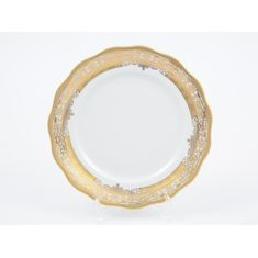 Тарелки ALASKA CREAM zoloto от Carlsbad