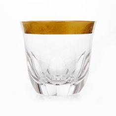Набор хрустальных стаканов 360 мл ДЖЕССИ от Kvetna, 6 шт.