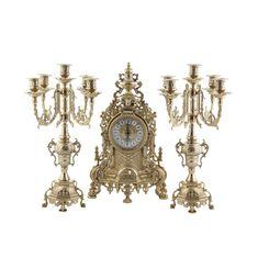 Набор из часов и двух канделябров от Alberti Livio