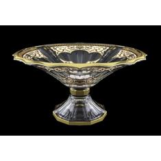 Ваза для фруктов 34 см на ножке ОПЕРА ИМПЕРИЯ от Astra Gold, стекло