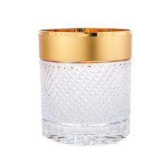Набор стаканов 250 мл ФЕЛИЦИЯ 20260 от Mclassic, хрусталь, 6 шт.