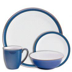 Сервиз чайно-столовый ИМПЕРАТОРСКИЙ СИНИЙ от Denby на 4 персоны