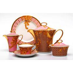 Сервиз чайный БИЗАНТ ВИЗАНТИЙСКИЕ МЕЧТЫ (Les Reves Byzantins) от Rosenthal и Versace на 6 персон