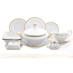 Столовый сервиз ПРЕСТИЖ от Queens Crown (Prince Porcelain) на 6 персон