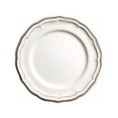 Тарелка обеденная LES FILETS, цвет TAUPE (бежевый), от Gien, 26 см