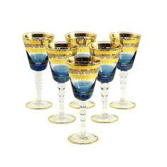 Хрустальные бокалы для вина или воды ADRIATICA от Migliore