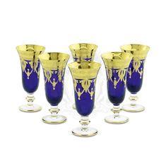 Бокалы для шампанского DINASTIA BLU от Migliore