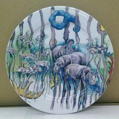 Тарелка для торта 27 см САФАРИ, коллекция САБИНА, от Leander