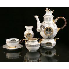Чайный сервиз ЖЮЛЬ ВЕРН от Thun Studio на 6 персон, 17 предметов