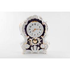 Часы настольные (каминные) 32 см от Leander, фарфор