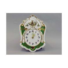 Часы настольные (каминные) ОХОТА от Leander, фарфор