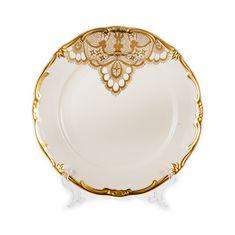 Набор фарфоровых тарелок 24 см ЛАКЕ от Weimar Porzellan на 6 персон