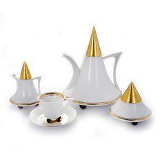 Сервиз кофейный из фарфора ОБЕЛИСК от Thun Studio на 6 персон, 12 предметов