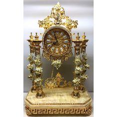 Часы настольные РОЗА от Cevik, керамика