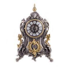 Часы каминные от Alberti Livio, латунь, 24х40 см