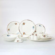Фарфоровый столовый сервиз МЕЙСЕНСКИЙ БУКЕТ от Royal Classics на 6 персон, 30 предметов