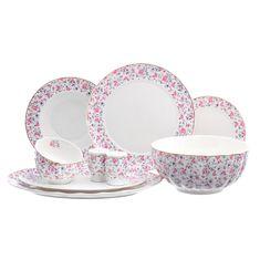 Фарфоровый столовый сервиз от Royal Classics (Huawei ceramics) на 6 персон, 25 предметов
