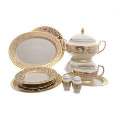 Сервиз столовый IMPERIAL CREME GOLD от Falkenporzellan на 6 персон, 26 предметов
